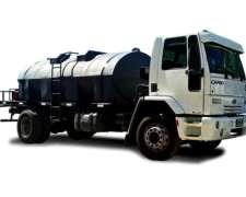 Plataforma de Riego C/tanque Plástico de 8000,10000 O12000 L