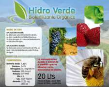 Fertilizante Foliar para Todo Tipo de Cultivos.