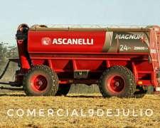 Tolva Autodescargable Ascanelli Magnum 24 - 9 de Julio