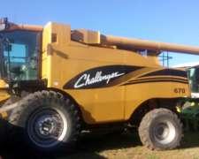 Cosechadora Challenger 670 / 2008 / Impecable / Oportunidad