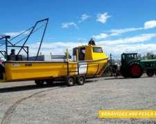 Lancha Tracker Benavidez 980 Pro Cabin - Cabinada A Proa