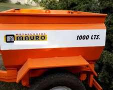 Tanque De Combustible 1000lts. 1 Eje Nuevo Mauro