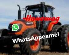 Tractor Hanomag Tr175c/a 170hp 4wd Agrícola