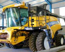 Cosechadora New Holland CR 9060 Plataforma de 35 Pies