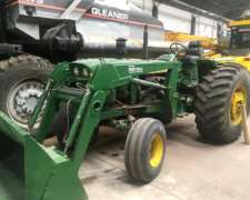 John Deere 4420 con Pala Frontal. Impecable