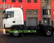 Scania R330 Tractor con Plato Impecable