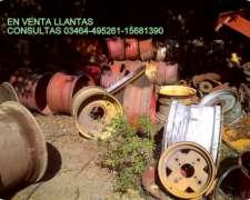 Vendo Cubiertas y Llantas Medidas Varias