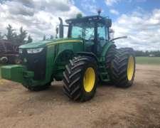 Tractor John Deere 8310r, año 2013