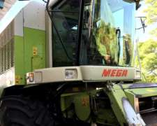 Claas Mega 204/mbenz Turbo 220 Hp/hid. Plat 25ps-9000hs Uso.