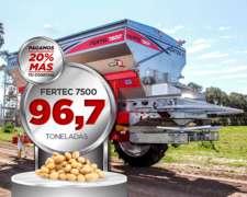 Fertilizadora / Esparcidora Fertil 7500 Serie 5