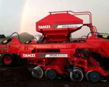 Sembradoras Tanzi Granos Finos y Gruesos AIR Drill