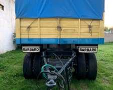 Acoplado Montebras Carroceria Barbaro