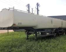 Vendo Semi Tanque de 33.000 Lts 2+1 de Acero al Carbono 1984