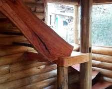 Cabañas De Troncos Construcción En Madera Llave En Mano