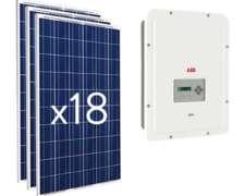 Kit Solar 0n-grid 5.000 W Monofásico