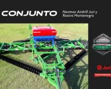 Conjunto Rastra y Neomax AIR Drill 320 - Promo Lanzamiento