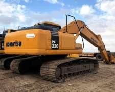 Excavadora Komatsu Pc220 (id556)