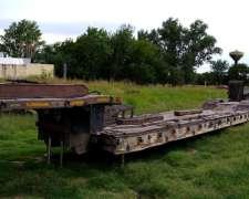 Carreton Semi-remolque Marcelini año 2005 2 Ejes Hidráulico