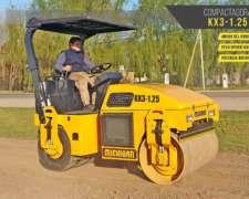 Compactador Michigan Combinado KX3-125 3000 Kg