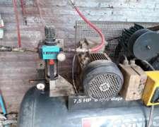 Compresor Condor 7,5hp Baja / Baja 300l