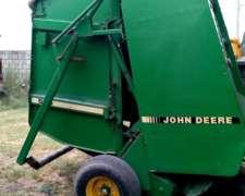 Enrolladora Jhon Deere Modelo 535, Reparada