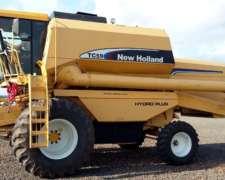 Cosechadora NH Tc59, año 2005