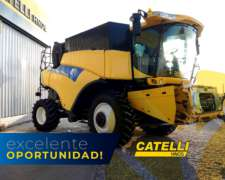 Cosechadora CR 9060 New Holland año 2012