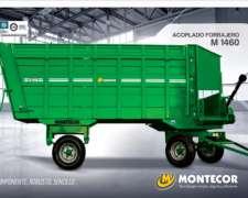 Acoplado Forrajero M1460 Montecor