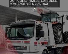 Traslado de Maquinarias Agricolas, Viales, Vehiculos en Gral