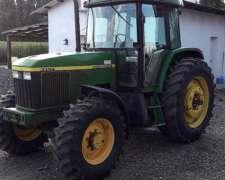 Tractor John Deere 6600 año 1998