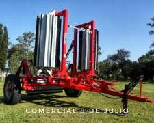 Rolo Triturador de Rastrojos Secman 4,5mts Modelo M-4500/75