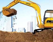 Excavadora Lovol FR60 6 TN Motor Yanmar Financio 70%