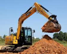 Mini Excavadora Sy75c, Desde