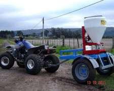 Sembradora Eléctrica de Pasturas e Insecticidas