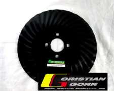 Cuchilla Turbo 33 Ondas de 18 Pulgadas / Sembradoras