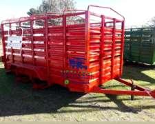 Carros Vaqueros para Transportar Animales .