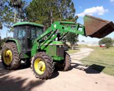 Tractor Jhon Deere 6600 Modelo 2001 4X4 8200 Hs
