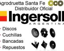 Discos y Cuchillas Ingersoll y Tubos y Cubiertas Buco Agro