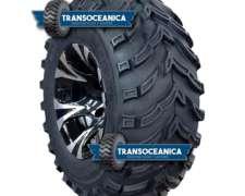 Cubierta 25x10-12 Diseño Semipala, Reforzadas, ATV / UTV