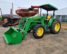Tractor John Deere 5725dt. con Pala 563
