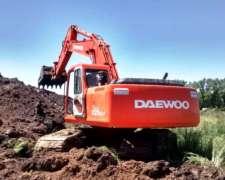 Excavadora Daewoo 220lc-v (id533)