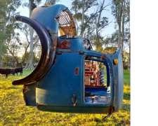 Cabina de Mercedes Panoramica a Reparar Oportunidad