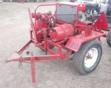 Vendo Taller Rodante Y Tanque Para Agua Potable 750 L