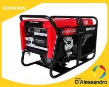 Generador, Honda, Et12000, Producto De Fuerza
