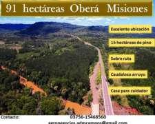 91 Hectáreas - Oberá Misiones