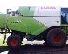 Cosechadora Claas Tucano 430 - año 2012