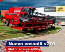 Nueva Cosechadora Vassalli V770
