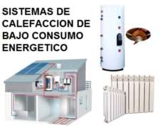 Calefacción Solar para Casa de Campo - con o sin GAS