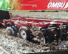 Rastra Disco de Tiro ROE 1500 Ombu