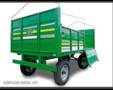 Acoplado Rural 4tt Metalfor- Nuevo C/ Cubiertas